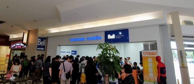Bridlewood Mall Bell Aug 10 RB photo